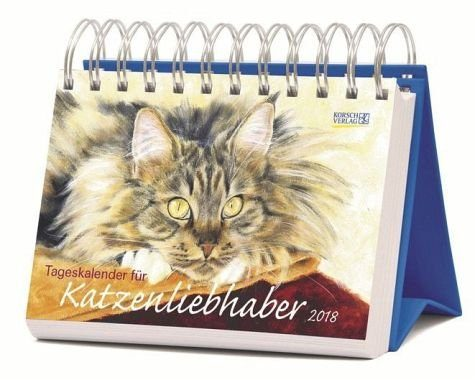 Kalender »Tageskalender für Katzenliebhaber 2018«