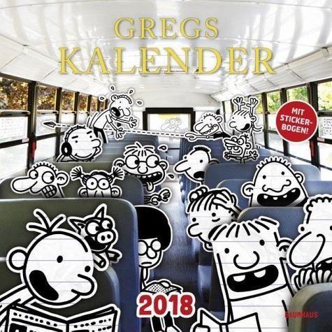 Kalender »Gregs Kalender 2018«