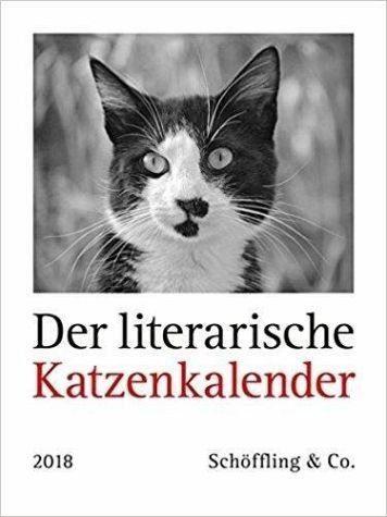 Kalender »Der literarische Katzenkalender 2018«