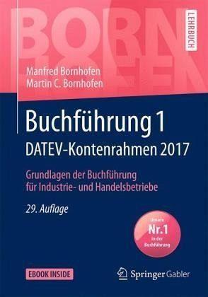 Broschiertes Buch »Buchführung 1 DATEV-Kontenrahmen 2017«
