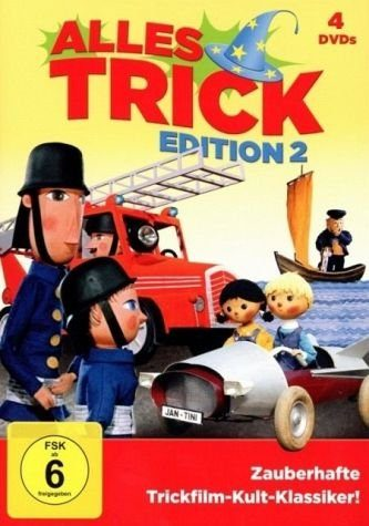 DVD »Alles Trick - Edition 2 DVD-Box«
