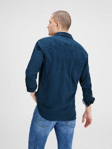 Jack & Jones Halbblenden- Long-sleeved Shirt