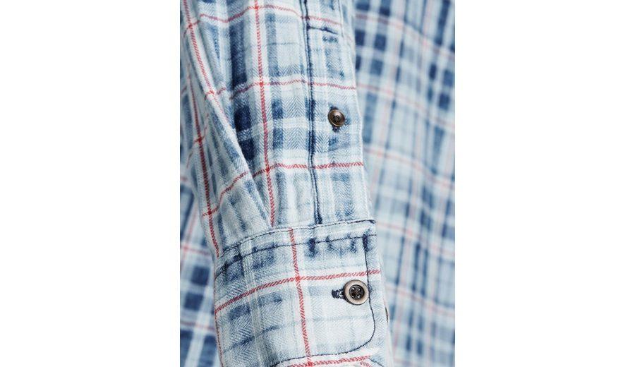 Jack & Jones Kariertes Langarmhemd Steckdose Mit Kreditkarte 100% Garantiert Billig Original Finish Günstiger Preis miMP5f