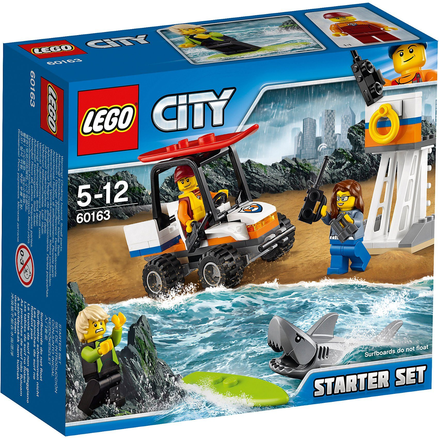 LEGO 60163 City: Küstenwache-Starter-Set