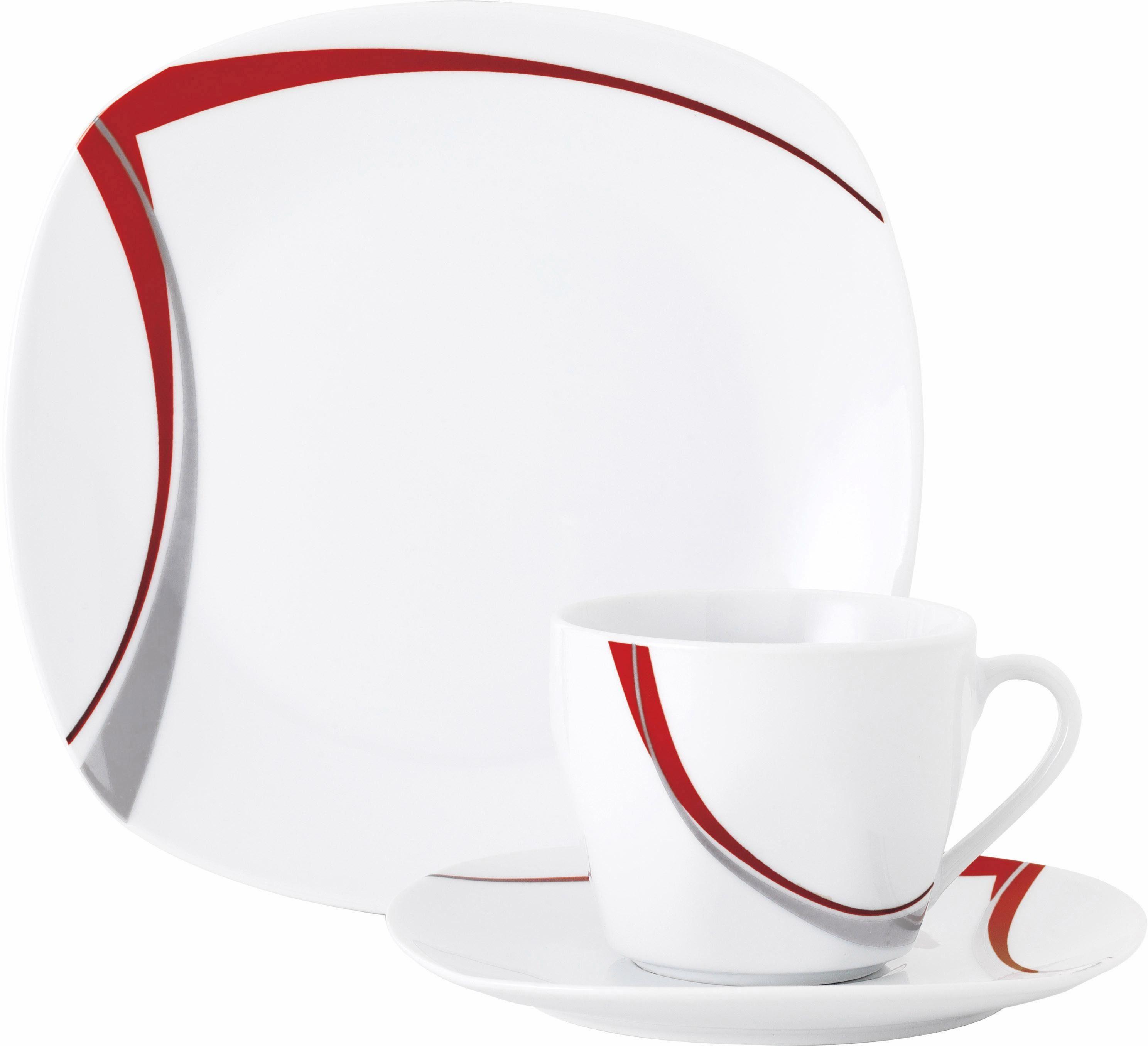 Van Well Kaffeeservice, Porzellan, 18 Teile, »CASA«