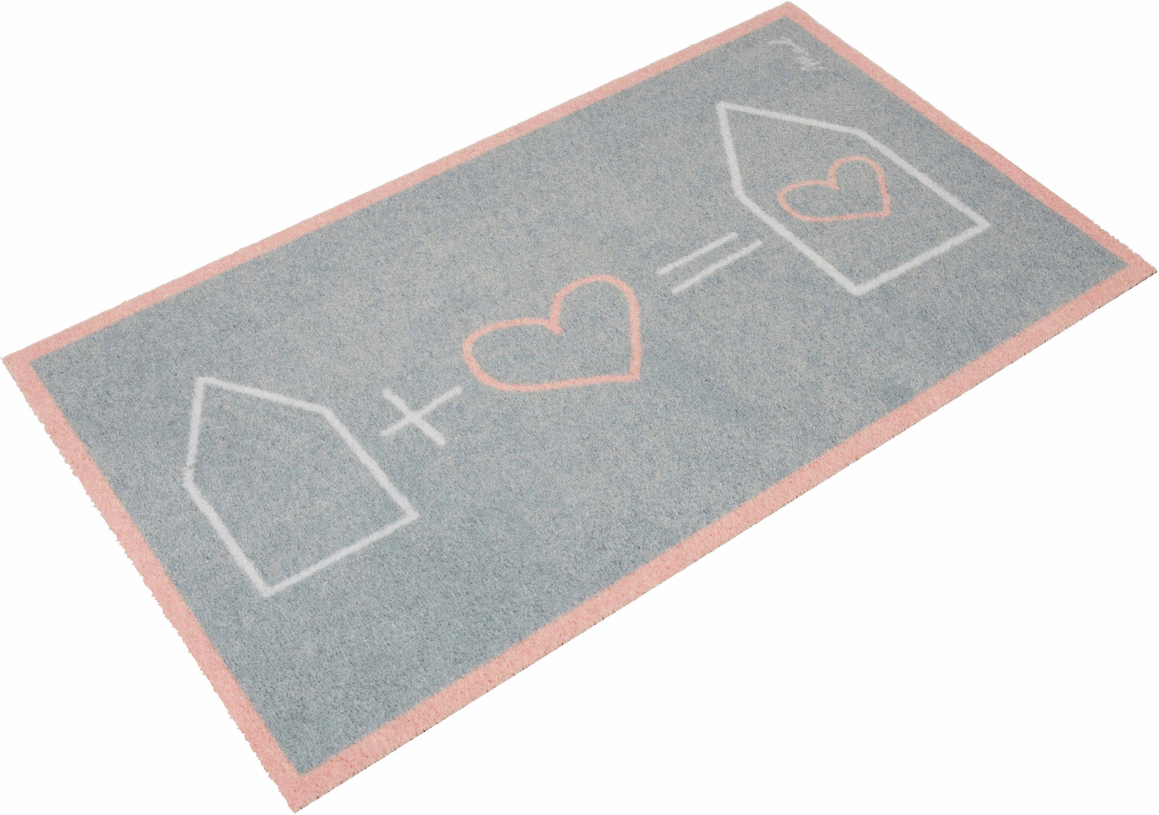 Teppich »Leah«, Mad about Mats, rechteckig, Höhe 9 mm, In- und Outdoor geeignet, waschbar