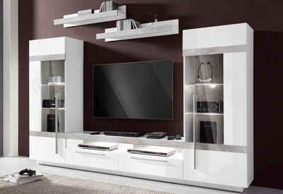 Wohnwand modern holz  Moderne Wohnwand online kaufen | OTTO