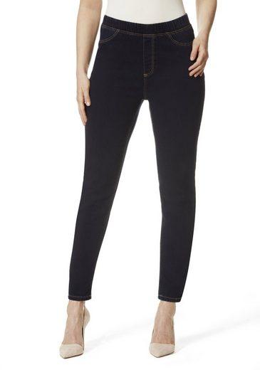 STOOKER WOMEN 5-Pocket-Jeans Florida Denim, mit Gummibund