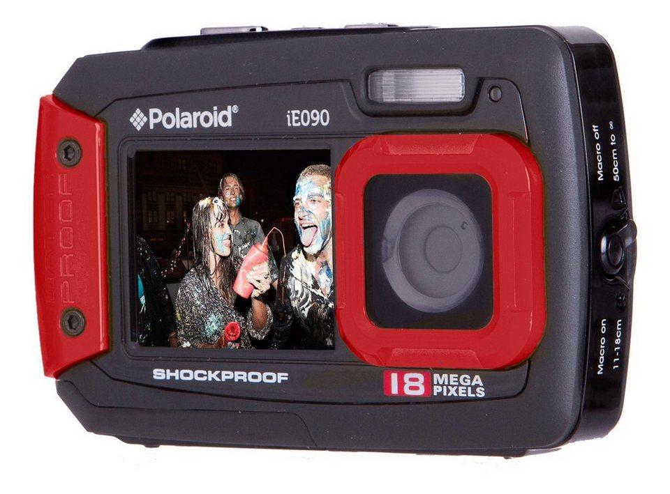 polaroid dual screen wasserdichte digitalkamera ie090 online kaufen otto. Black Bedroom Furniture Sets. Home Design Ideas