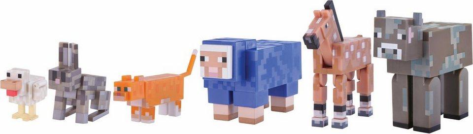 Multipack Spielset Minecraft Zahme Tiere OTTO - Minecraft spiele mit tieren