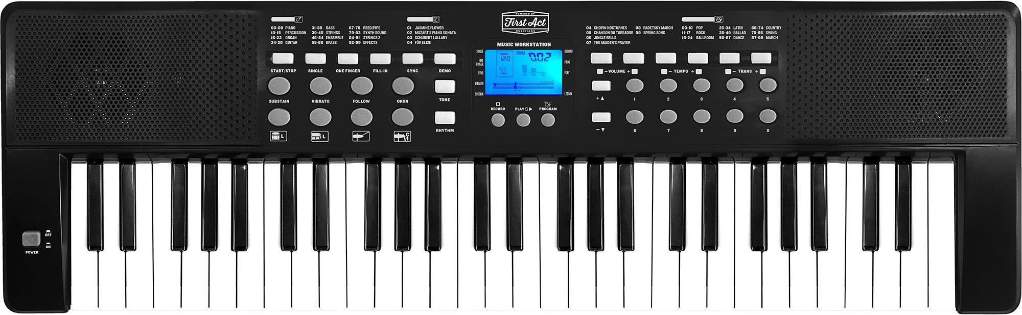 Digitales Keyboard mit 54 Tasten, »First Act«