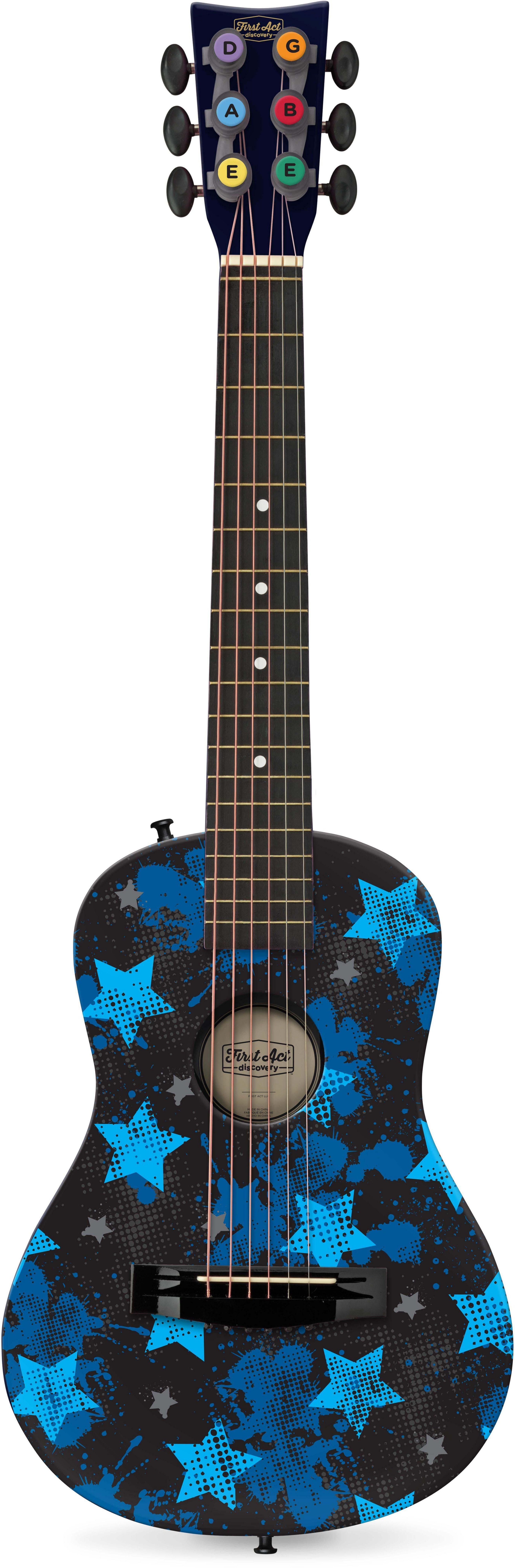 Kindergitarre, »First Act Discovery, Rockstars, blau«