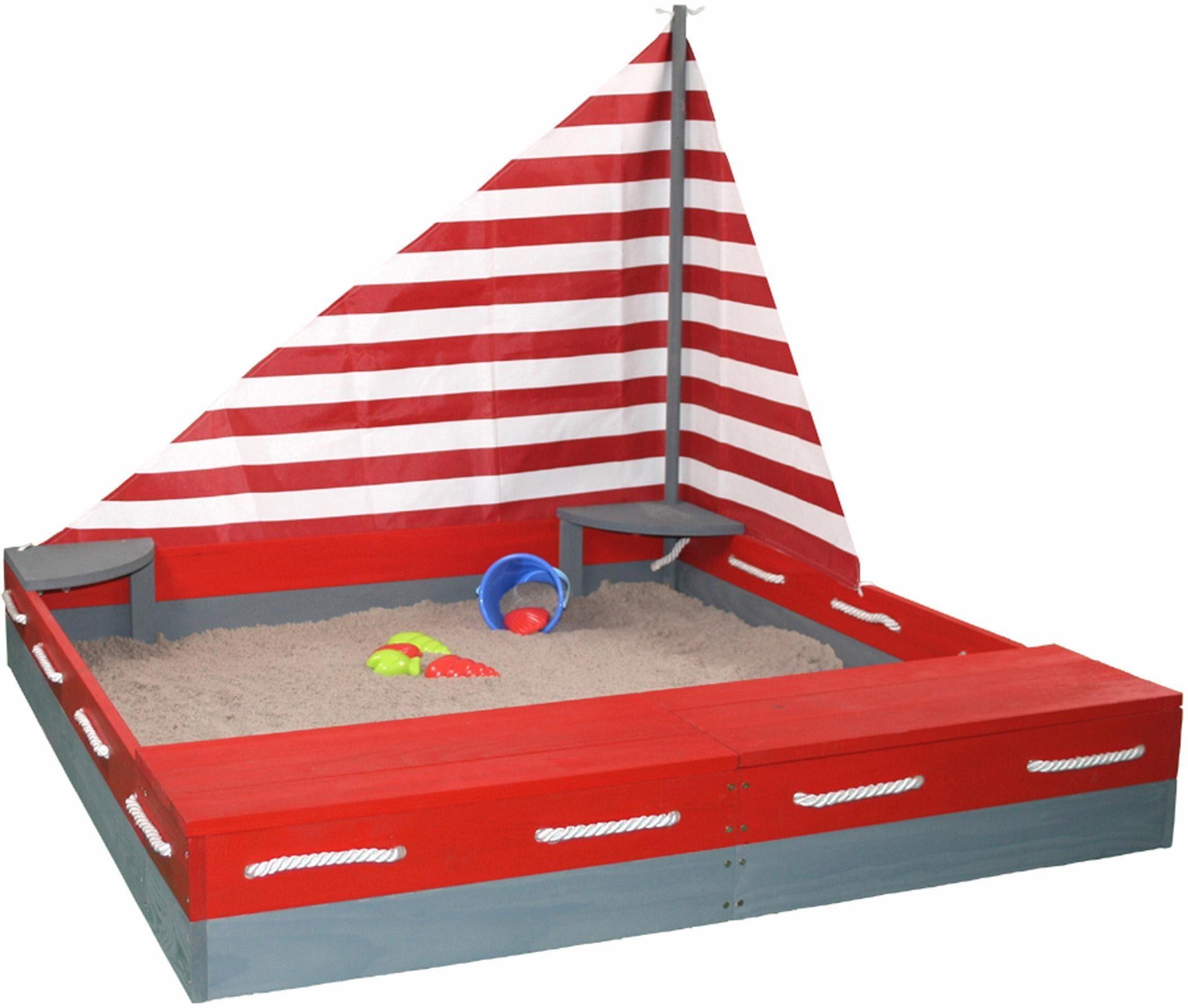 Sun Sandkasten aus Holz, »Seefahrer«