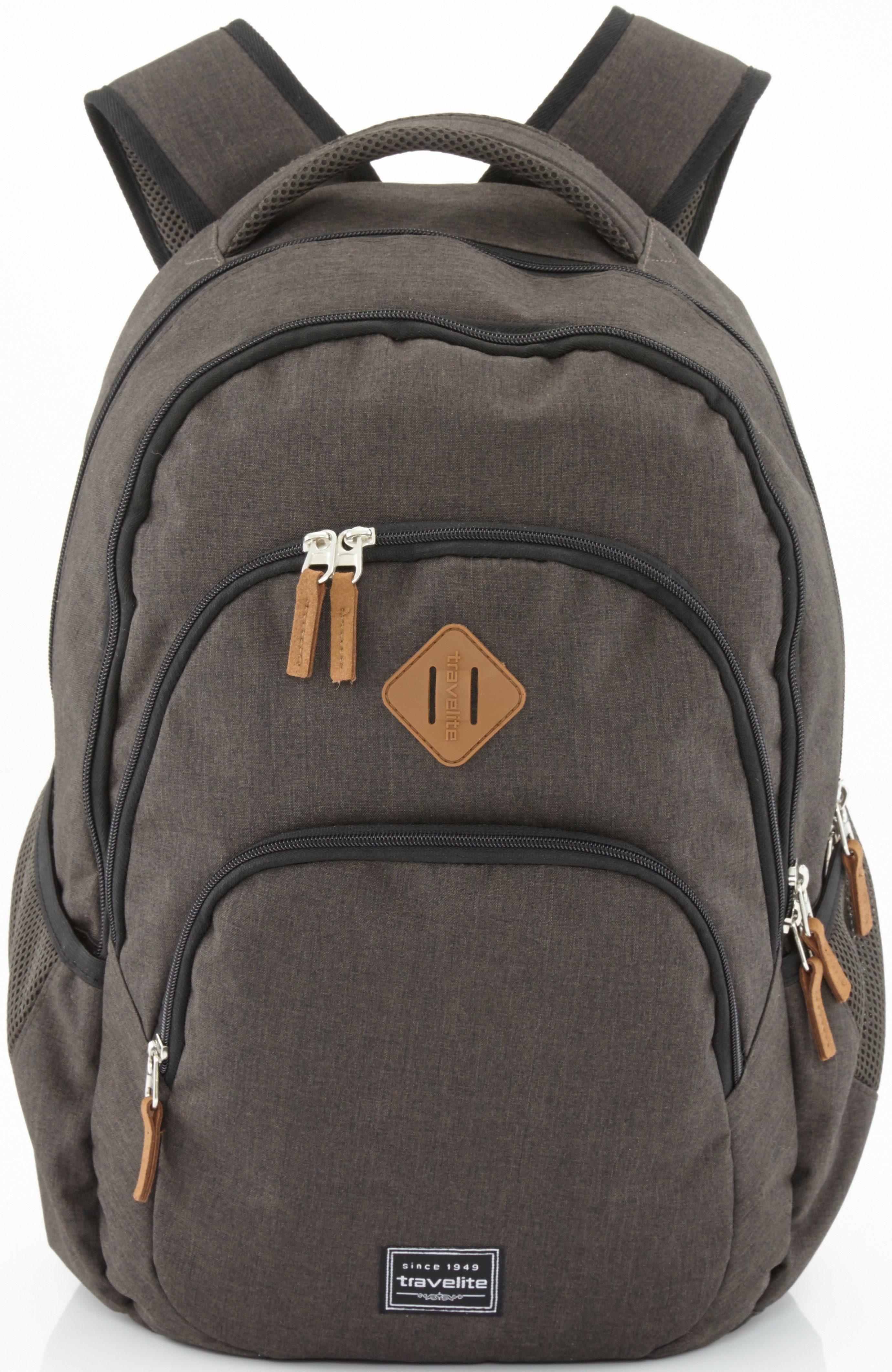 travelite Rucksack, »Basics, braun«