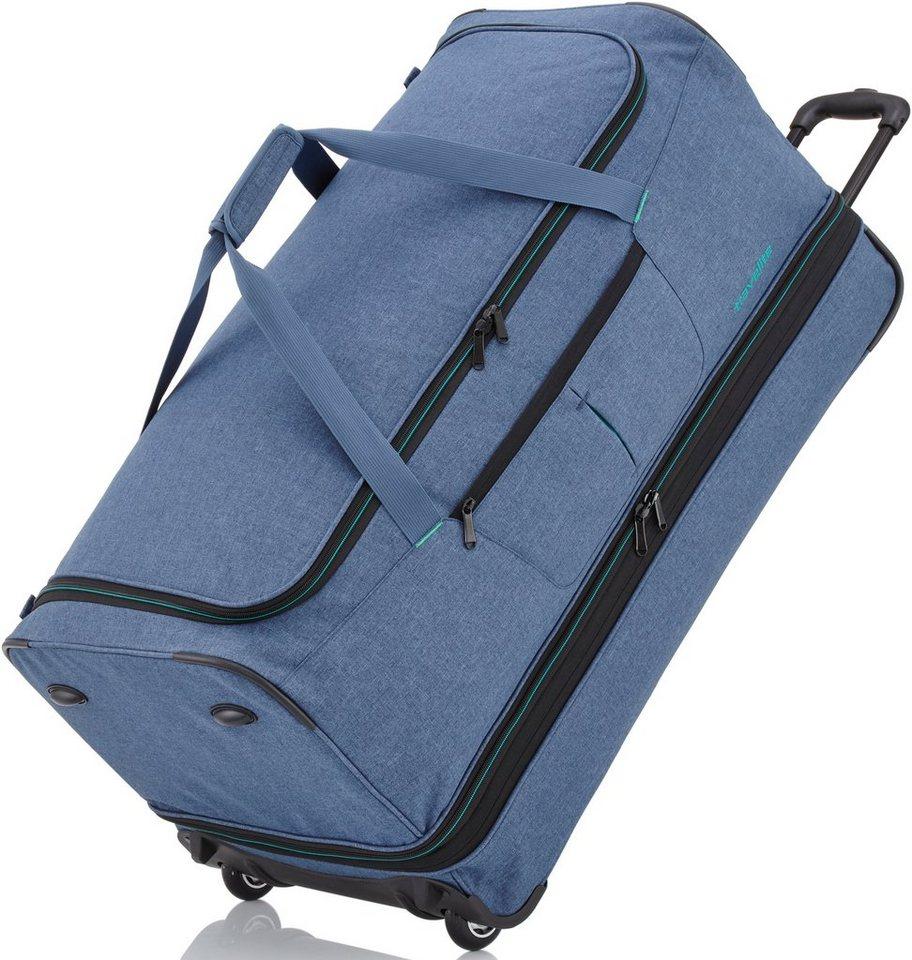 travelite reisetasche xl mit 2 rollen basics 80 cm online kaufen otto. Black Bedroom Furniture Sets. Home Design Ideas