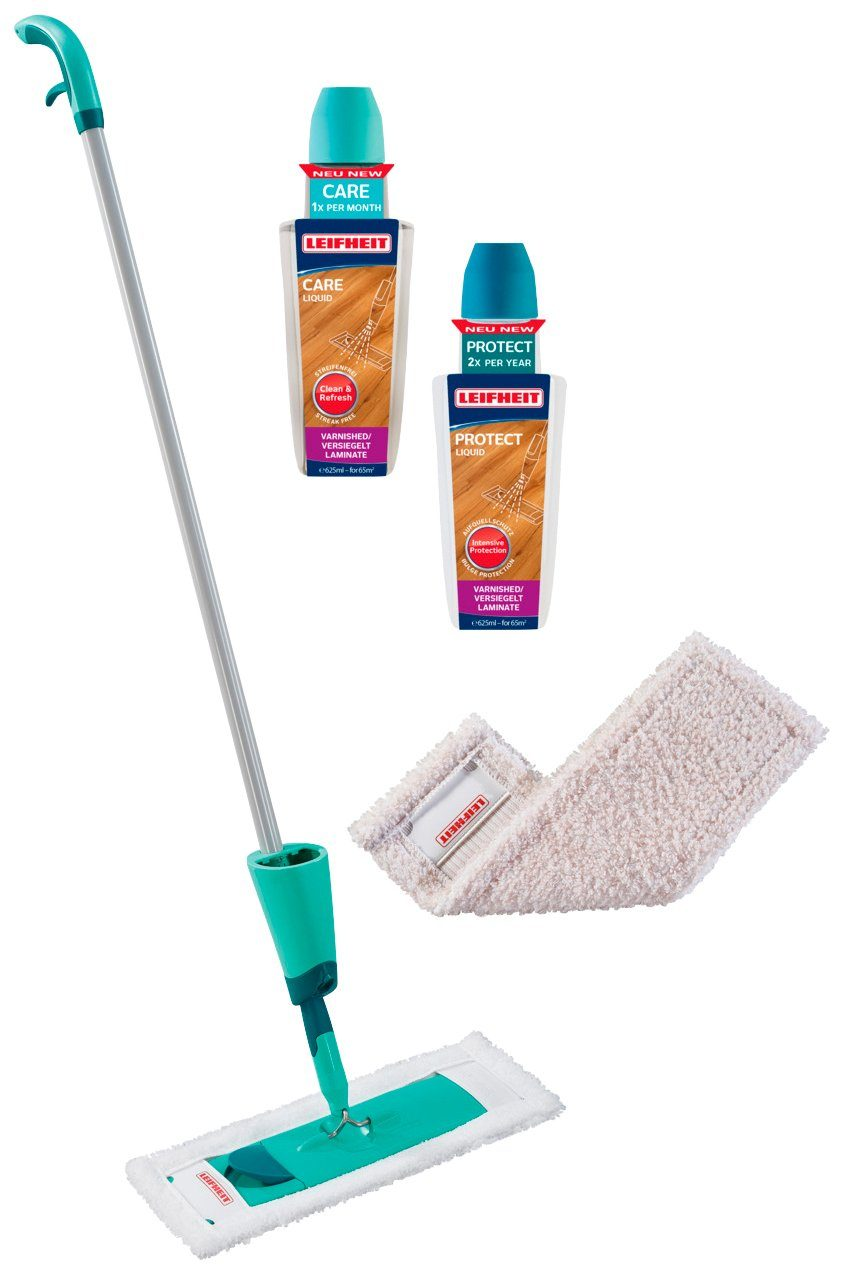 LEIFHEIT Bodenwischer Starter Set »CARE & PROTECT«
