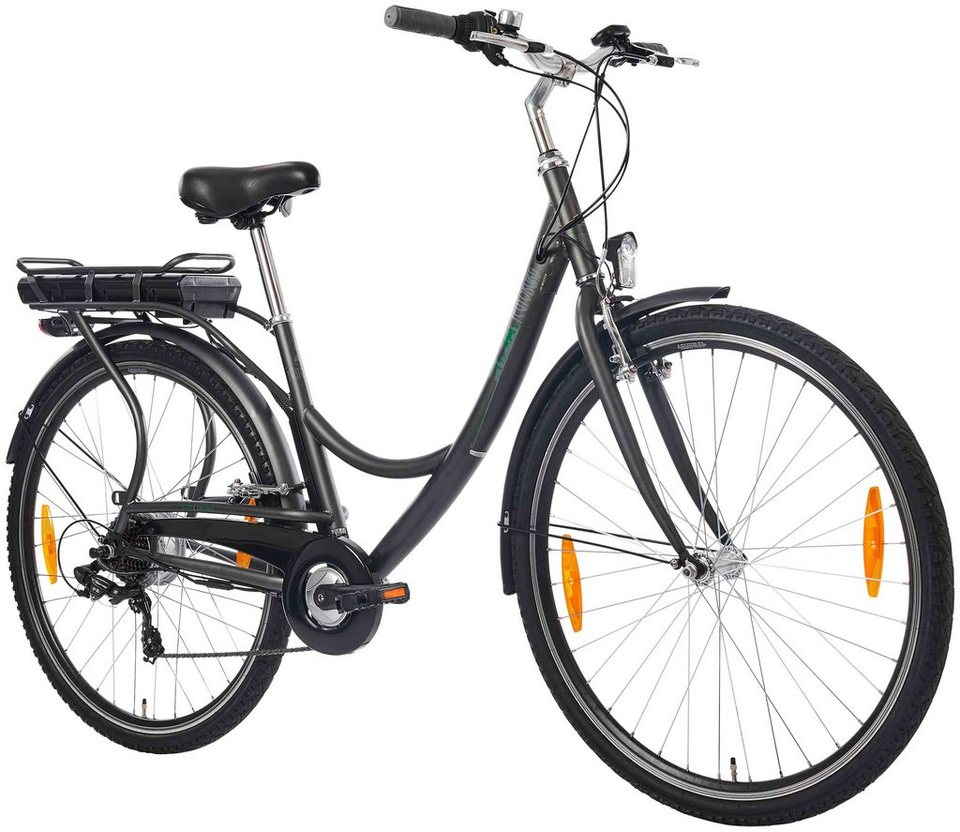 e bike city senne 28 zoll 7 gang heckmotor 317 wh online kaufen otto. Black Bedroom Furniture Sets. Home Design Ideas