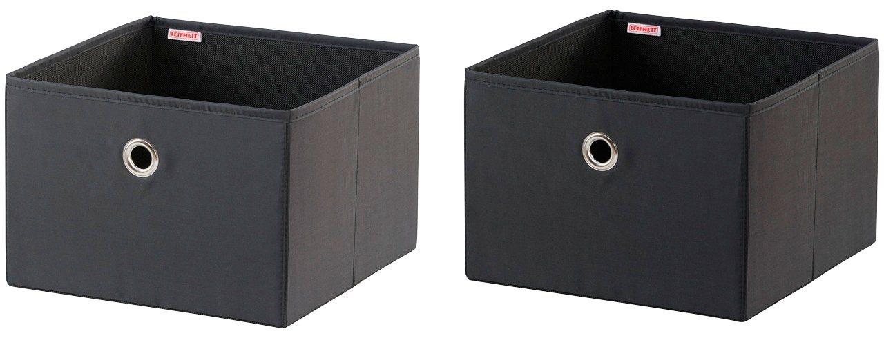LEIFHEIT Aufbewahrungsbox »Groß« 1 Stück | Dekoration > Aufbewahrung und Ordnung > Kästchen | Leifheit
