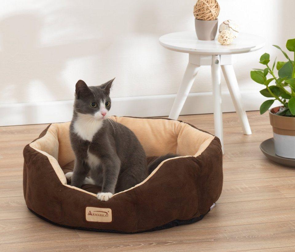 armarkat hundebett und katzenbett b l h 51 51 20 cm. Black Bedroom Furniture Sets. Home Design Ideas