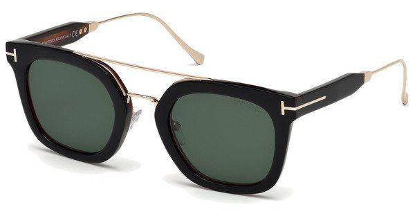 Tom Ford Sonnenbrille »Alex FT0541«, braun, 56X - havana/blau