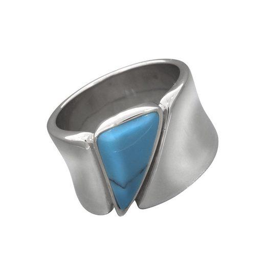 Vivance Ring »925/- Sterling Silber rhodiniert Türkis«