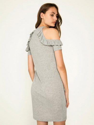 Pieces Rüschen- Kleid
