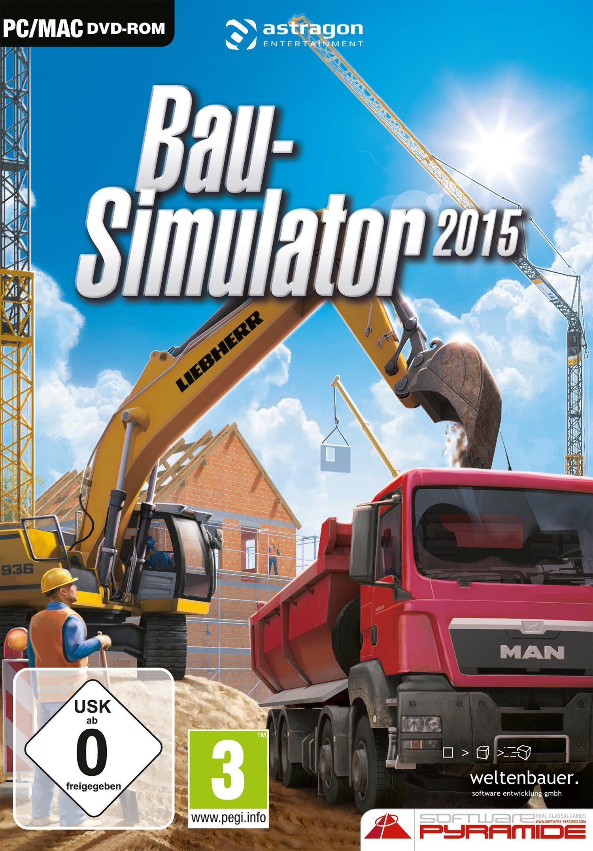 Warner Games Software Pyramide - PC Spiel »Bau-Simulator 2015«