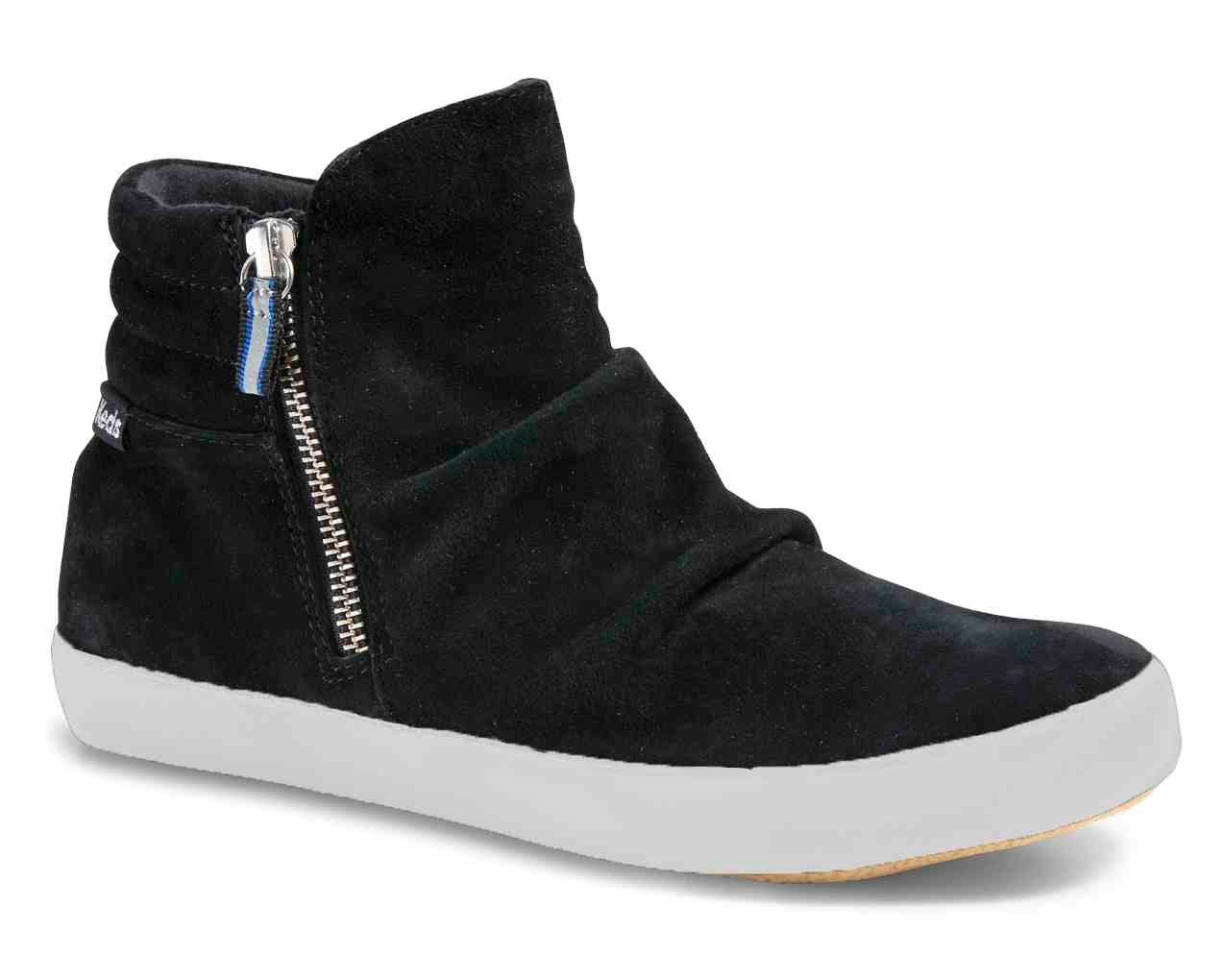 Keds Midtown Zip Boot Suede WX Sneaker kaufen  schwarz