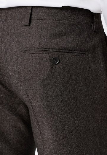 Next Structured Tailored-fit Modular Suit Pants