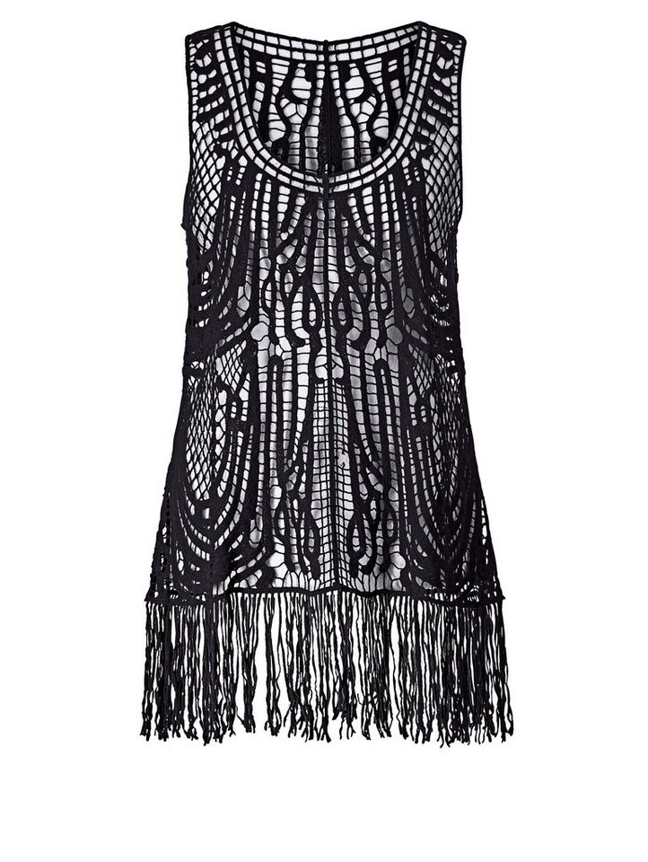 Angel of Style by Happy Size Top aus Häkel-Spitze | OTTO