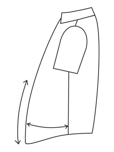 Men Plus by Happy Size Spezial-Bauchschnitt Hemd in Piqué