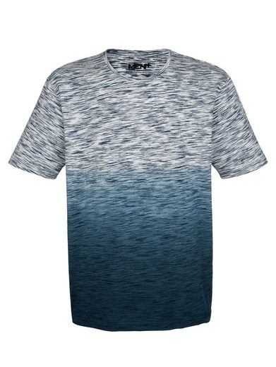 Men Plus by Happy Size T-Shirt mit Farbverlauf