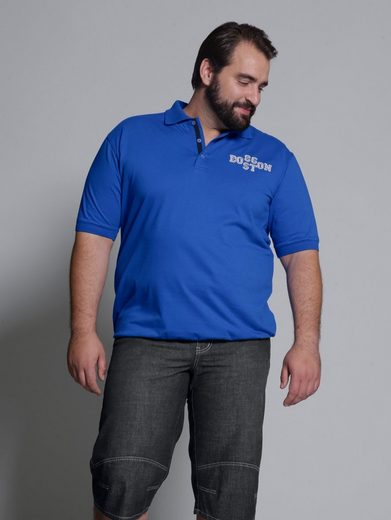 Men Plus by Happy Size Spezial-Bauchschnitt Poloshirt