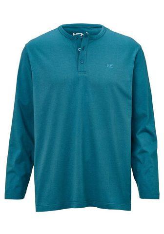 MEN PLUS BY HAPPY SIZE Marškinėliai su sagos