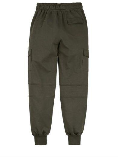 Men Plus by Happy Size Jogpants mit Cargotaschen