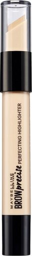 MAYBELLINE NEW YORK Augenbrauen-Stift »Brow Precise Perfecting Highlighter«, optischer Lifting-Effekt