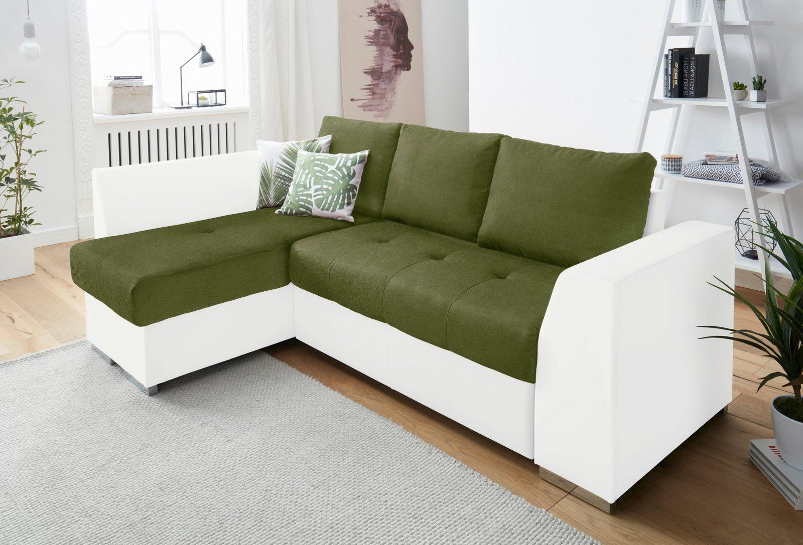 Cotta Polsterecke XL, wahlweise mit Bettfunktion und Bettkasten