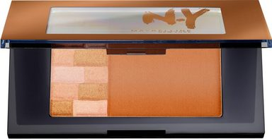 MAYBELLINE NEW YORK Highlighter »Bricks Bronzer«, Bronzer und Highlighter in einer Palette
