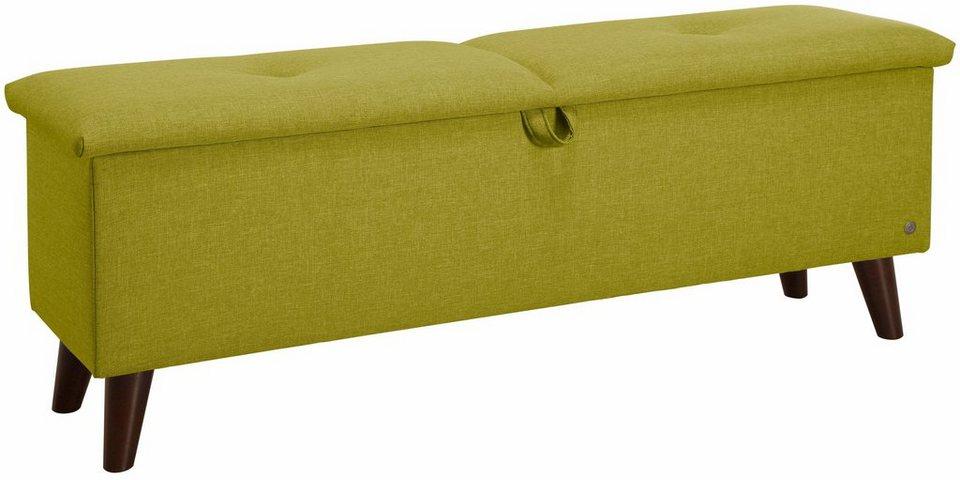 tom tailor hockerbank pillow box mit stauraum mit dekorativem knopfdetail im sitz online. Black Bedroom Furniture Sets. Home Design Ideas