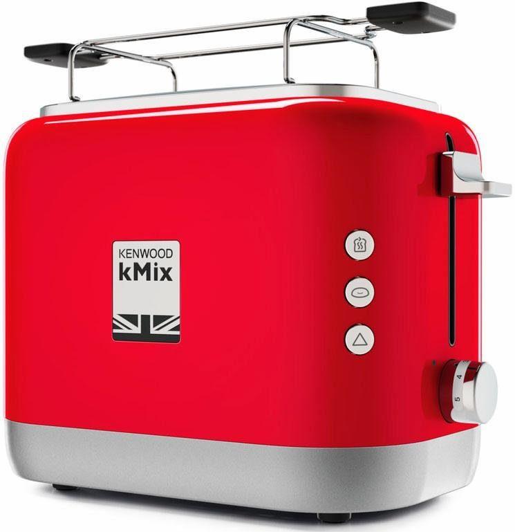 KENWOOD Toaster TCX751RD, für 2 Scheiben, 900 W