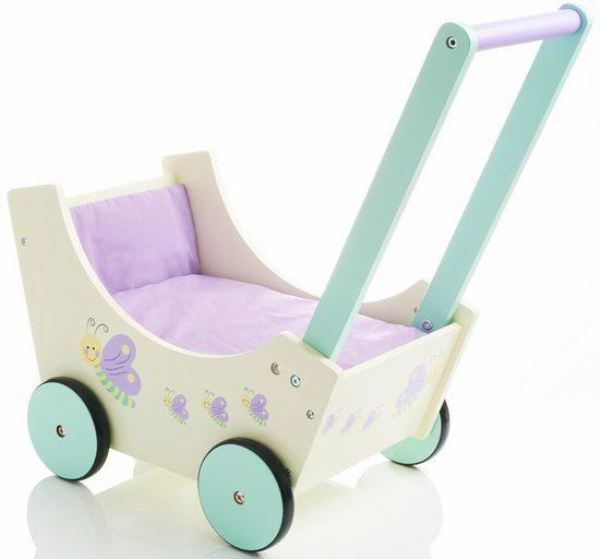 Sun Puppenwagen »Speedy Schmetterling«, aus Holz