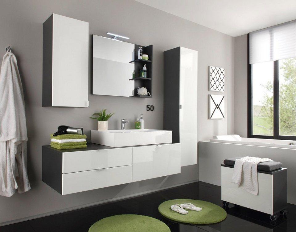 Trendteam badm bel set beach 4 tlg mit aufsatzwaschbecken online kaufen otto for Badmobel aufsatzwaschbecken