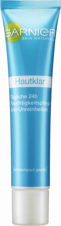GARNIER Feuchtigkeitscreme »Hautklar Tägliche 24H«, Anti-Unreinheiten