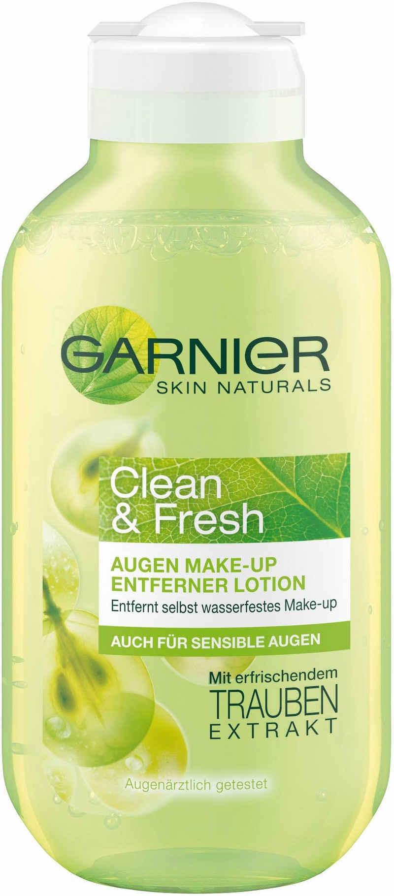 GARNIER Augen-Make-up-Entferner »Clean & Fresh«