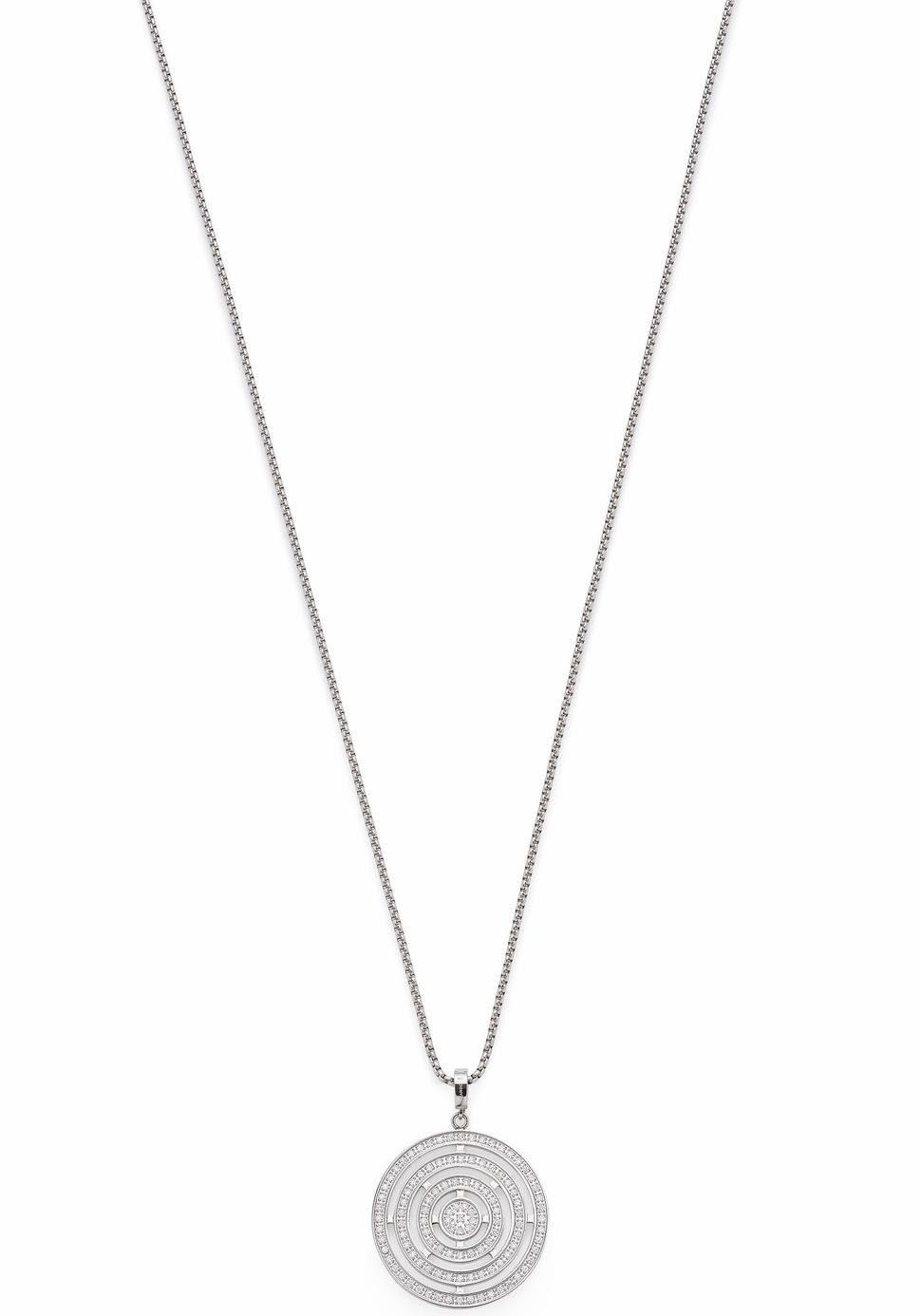 LEONARDO Kette mit Einhänger »Rotare, 016330«, mit Kristallsteinen