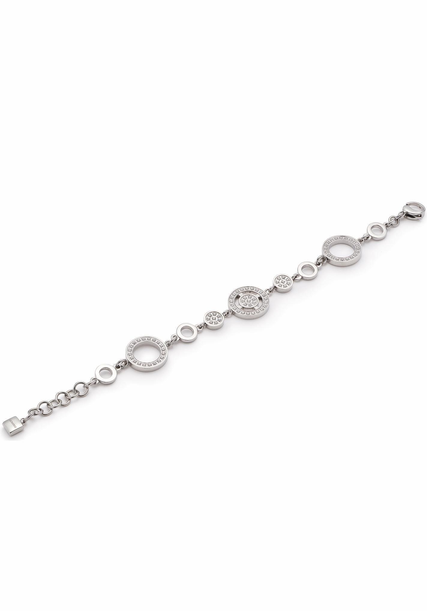 LEONARDO Armband »Rotare, 016331«, mit Kristallsteinen
