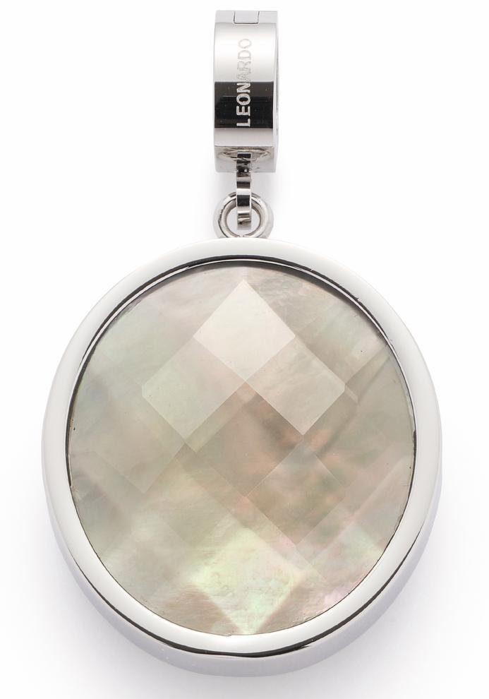 LEONARDO Charm-Einhänger »Alina Darlin's, 016404« mit Glassteinen und Perlmutt