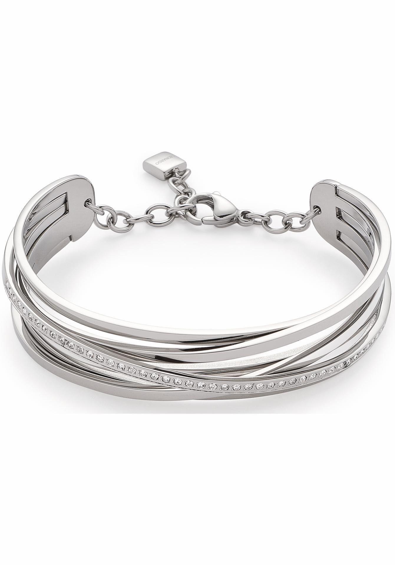 LEONARDO Armband »Verona, 016368«, mit Kristallsteinen