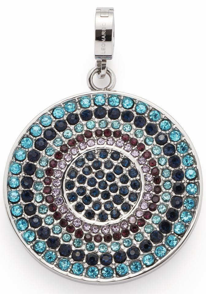 LEONARDO Charm-Einhänger »Melina Darlin's, 016408« mit Glassteinen