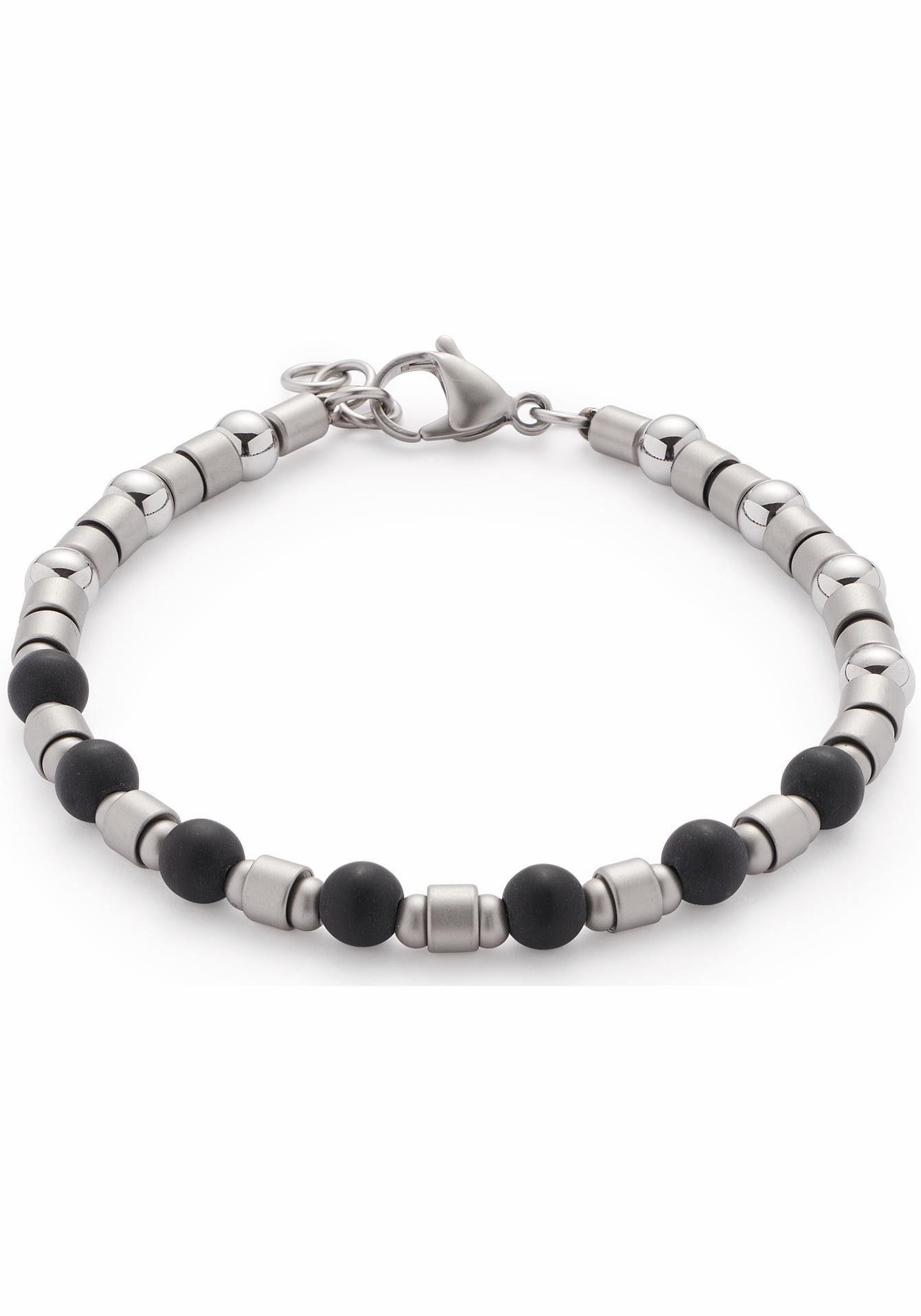 LEONARDO Armband »Palermo Men, 016427«, mit Glassteinen